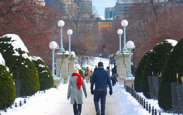 Walking Outdoor Winter