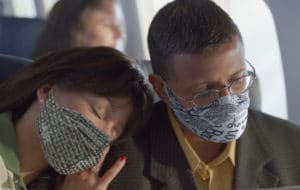 MyAir Face Mask for Jet Lag and Hydration